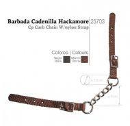 Curb chain for hackamore